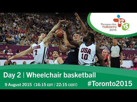Day 2 | Wheelchair basketball | Toronto 2015 Parapan American Games