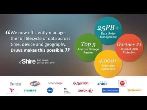 From On-Premises To Cloud: Modernize Data Protection With Druva Phoenix And AWS