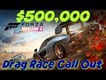 Forza Horizon 4 Drag Races Call Out $500,000 PAYOUT