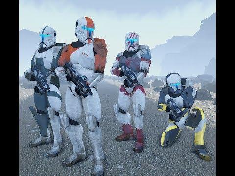 "Star Wars: Republic Commando Campaign Walkthrough Ep.1 ""Delta Squad"""