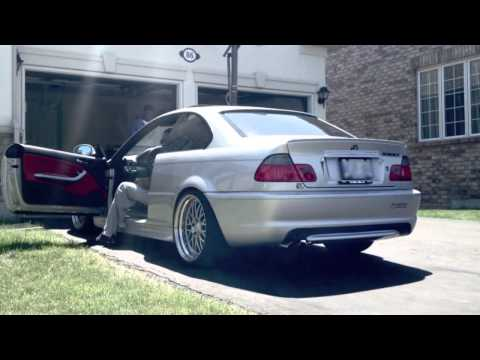bmw e46 330 ci headers w stock exhaust youtube. Black Bedroom Furniture Sets. Home Design Ideas