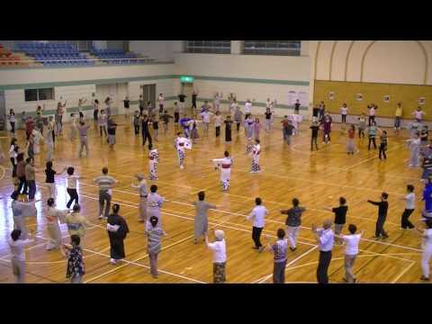 『泣くなオカメちゃん』東郷町民踊講習会2010