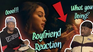 FROGS???  Selena Gomez - Boyfriend (Official Video) (Reaction)