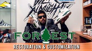 Should Jordan Brand Release these custom Air Jordan Forest Green 4s?