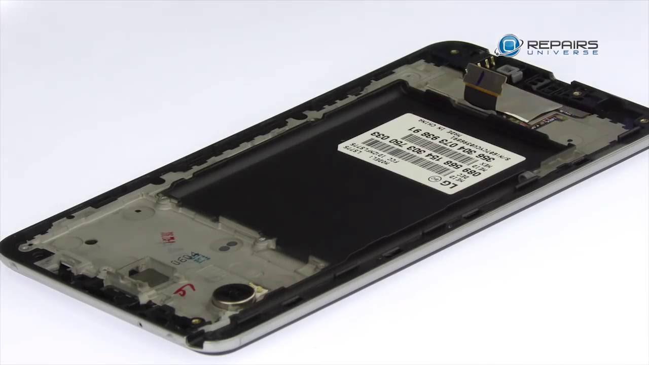 LG Stylo 2 Take Apart Repair Guide - RepairsUniverse