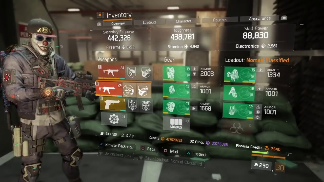 The Division Nomad Best Build