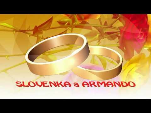 Andris na svadbe SLOVENKA A ARMANDO NOVE ZÁMKY DVD 1