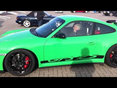 Porsche 997.1 GT3 RS acceleration + revving