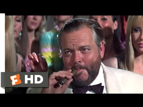 Casino Royale (1967) - Le Chiffre Loses to Evelyn Scene (5/10) | Movieclips