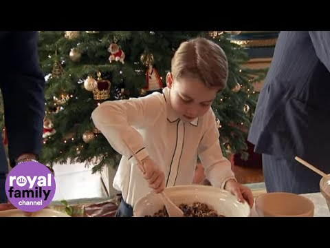 Prince-George-Makes-Christmas-Pudding-with-Queen-Elizabeth