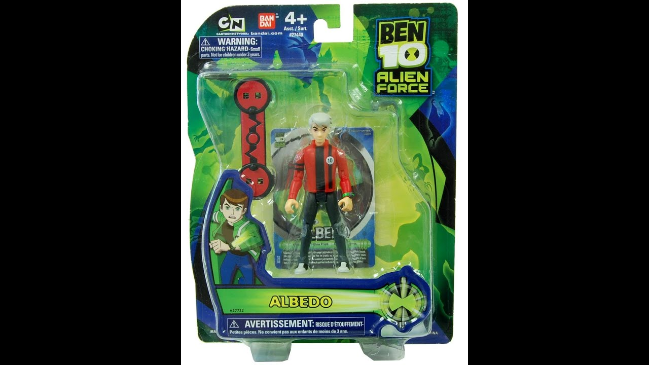 ben 10 alien force toy reviewalbedo youtube