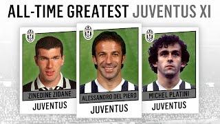 All Time Greatest Juventus Xi Del Piero Zidane Platini Youtube