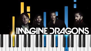 Imagine Dragons - Walking the Wire - Piano Tutorial - How to play Walking the Wire