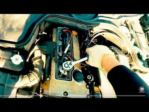 MERCEDES W202. КАК ПОМЕНЯТЬ СВЕЧИ ЧТОБЫ ТАЧКА ПОЛЕТЕЛА!!! AutoDogTV дырявыймерс 2017 #8