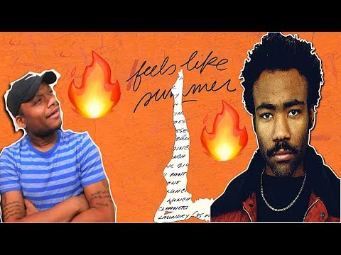 Summer Vibes Only! | Childish Gambino - Feels Like Summer (Audio) | REACTION!