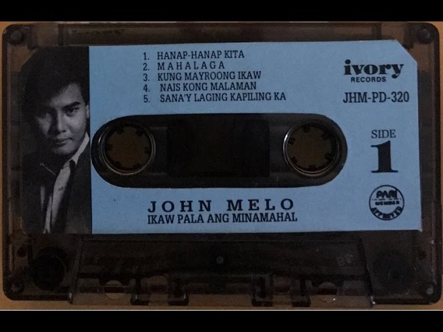 Sana'y Laging Kapiling Ka (Lyric Video) Singer John Melo