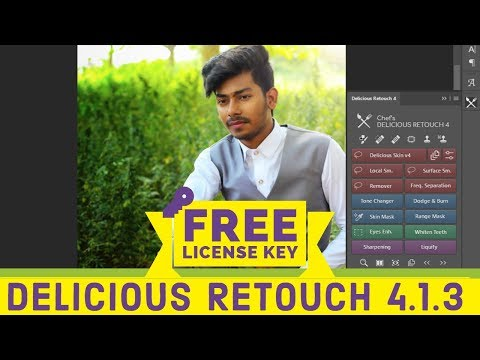 100% FREE |How To Download And Activate License Key Of Delicious Retouch 4.1.3 For Free | NKC-KNOWS