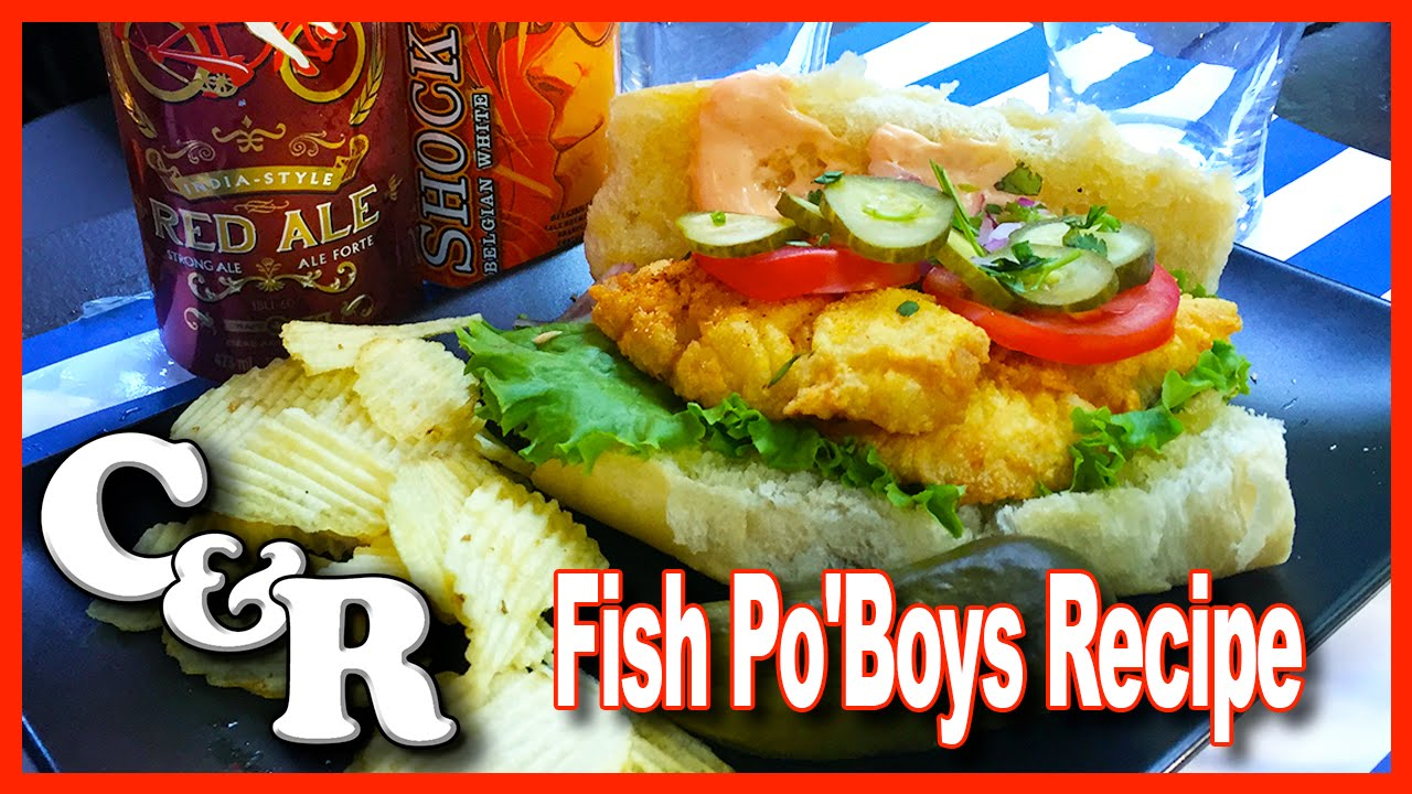 Fish Po'Boy Recipe - Cook & Review Ep #18