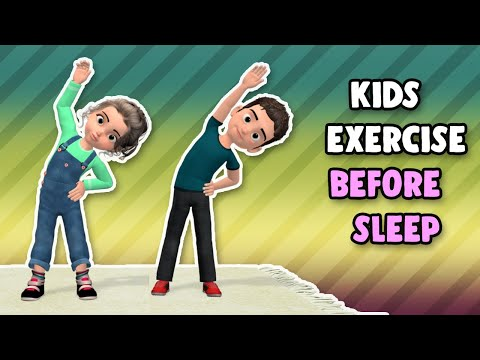Best Kids Exercises Before Sleep