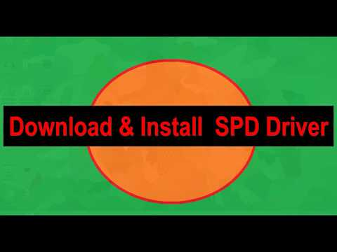 Android ADB Interface Driver II SPD Driver Installation Window -7,8,10,xp ,Vista 32 Bit Or 64 Bit