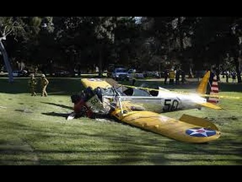 Harrison Ford Plane Crash: Actor Injured in L.A. Accident