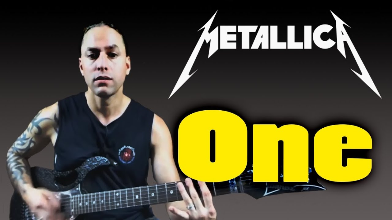 how to play one by metallica guitar lesson youtube. Black Bedroom Furniture Sets. Home Design Ideas