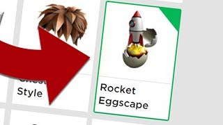 COMMENT GET THE ROCKET EGGSCAPE IN ROBLOX! (Événement brouillé dans le temps)