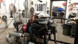 602 crate engine Dyno pull.