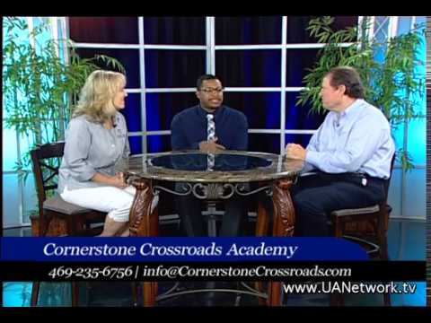 David talks with Kristi Lichtenberg and Wayne Sims about Cornerstone Crossroads Academy