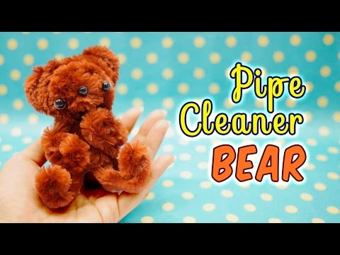 diy-pipe-cleaner-bear---craft-kit-from-daiso-tutorial