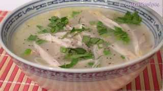 Chicken Congee (rice Porridge) - Chao Ga Recipe