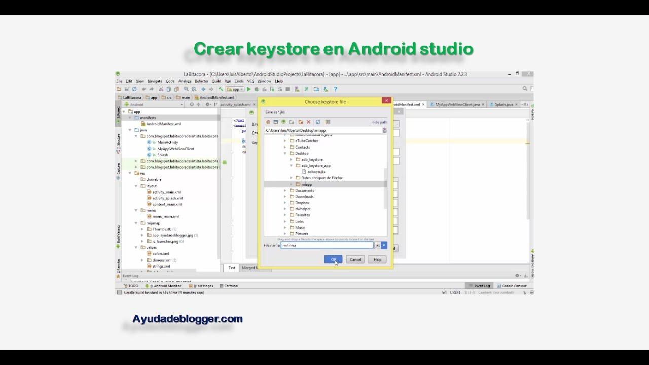 Como generar signed Apk en Android Studio  #Smartphone #Android