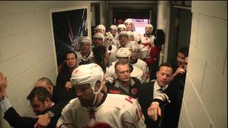 Repeat youtube video Tortorella in a Fight in the Flames Hallway - Jan 18th 2014 (HD)