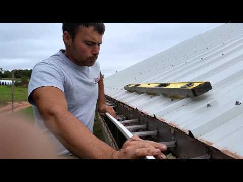 Repairing Gutters Steel Roof