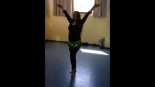אורלי ימין רקדנית בטן - כוראוגרפיה לשיר haifa wehbe - leik el wawa