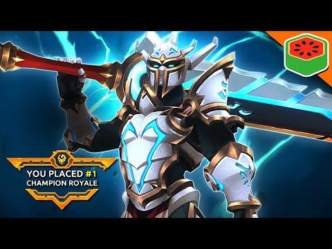 Solo Champion Royale King! | Battlerite Royale