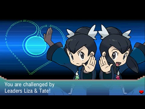 Pokemon Omega Ruby Alpha Sapphire Tate and Liz Gym Leader 7