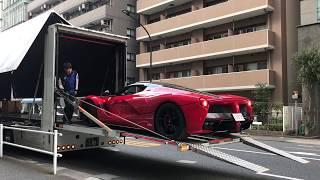 4億円!! La Ferrari Aperta (ラ・フェラーリ アペルタ)納入! その1