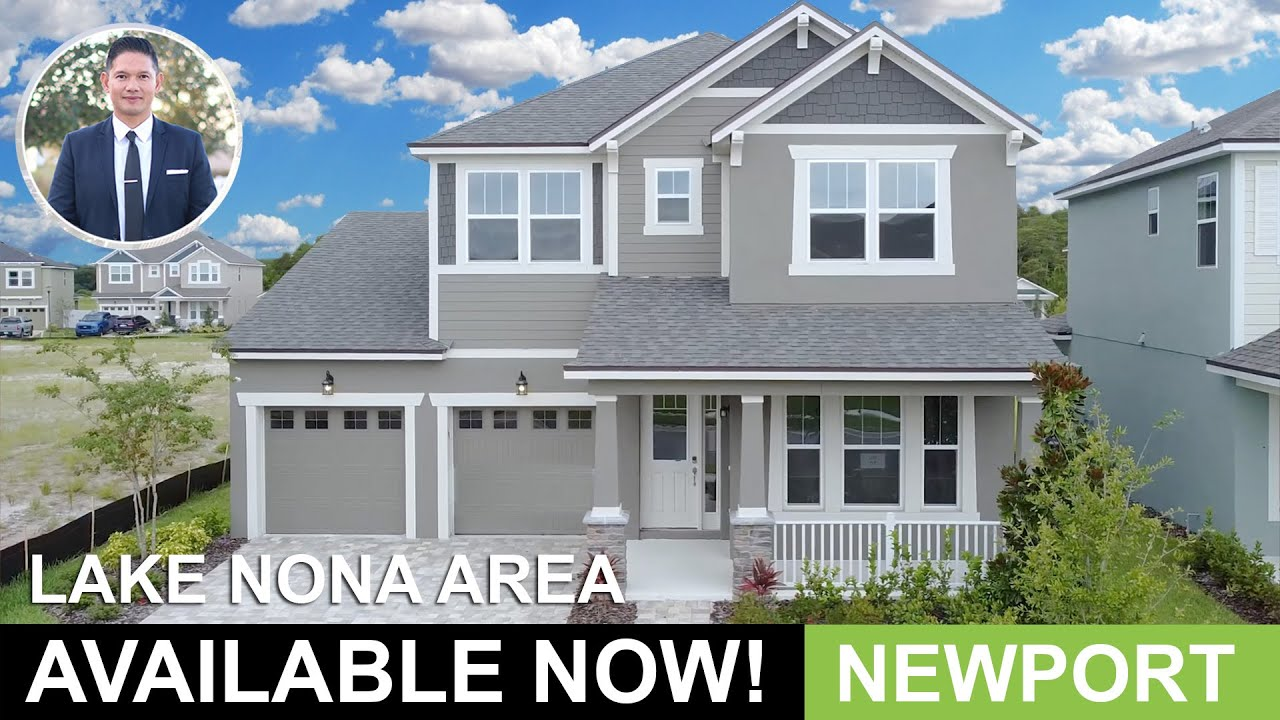 Lake Nona Area Home For Sale | $444,990 | Newport Plan | Orlando Home Finders