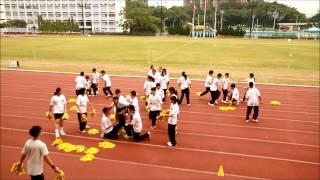 明愛粉嶺陳震夏中學 2014~2015年度 陸運會之四社啦啦