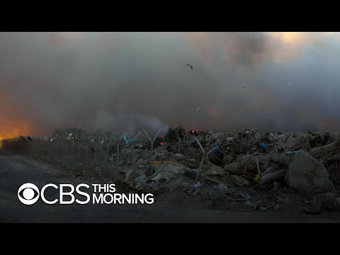"""How """"burn pits"""" in Iraq and Afghanistan may have put veterans at risk"""