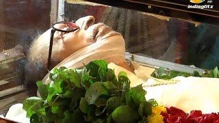 Legendary actor S.S.Rajendran passed away | Death Funeral Video | Vijayakanth, Karunanidhi