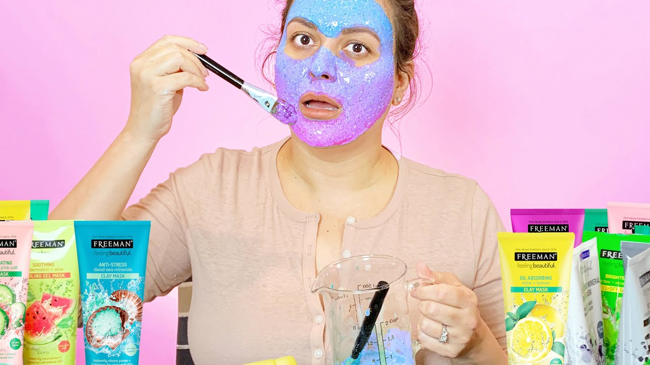 I Mixed ALL my Face Masks Together And This Happened