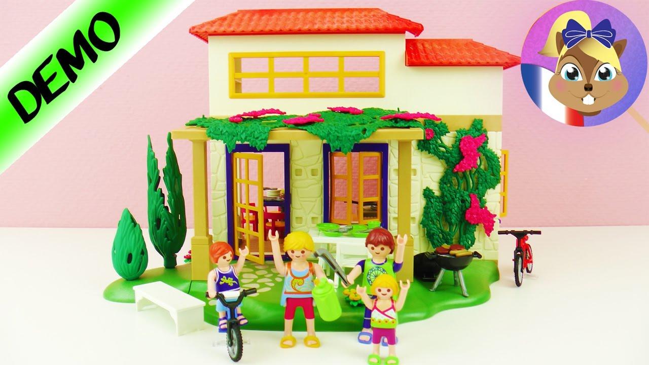 maison de vacances playmobil d mo fran ais d mo joue avec moi jeux pour enfants youtube. Black Bedroom Furniture Sets. Home Design Ideas