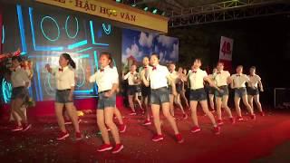 Khiêu vũ Nhảy 16 bước đều đẹp tuyệt vời của đội không chuyên.......