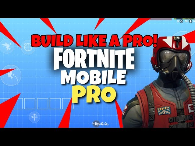 Pro Fortnite Mobile Player | The BEST HUD Setup In Fortnite Mobile to BUILD LIKE A PRO