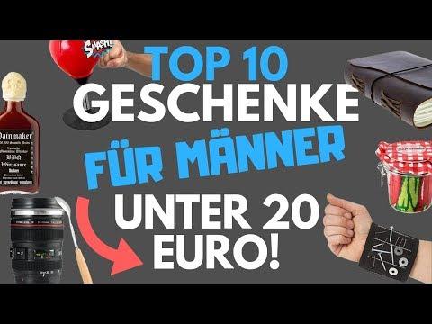 Weihnachtsgeschenke für Männer/ Geschenkideen Weihnachten für unter 20 Euro - TOP 10 Geschenke 2018