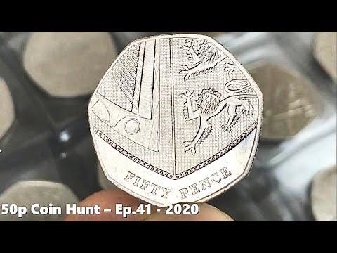 SHIELDED FROM GOOD FINDS! | £100 50p COIN HUNT Book 1 Ep.41 - 2020