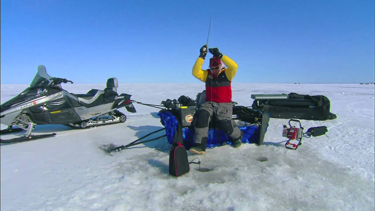 Ice fishing walleye lures youtube for Walleye fishing tackle