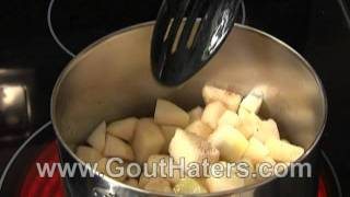 Gout Hater's Cookbook Cooked Pears Recipe
